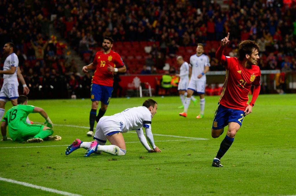 Silva, Costa toa sang giup Tay Ban Nha de bep Israel hinh anh 2