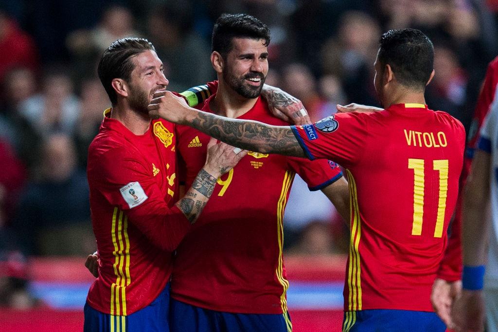 Silva, Costa toa sang giup Tay Ban Nha de bep Israel hinh anh 5