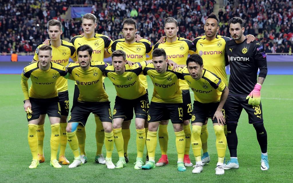 Monaco vao ban ket cup C1 sau tran thang Dortmund anh 1
