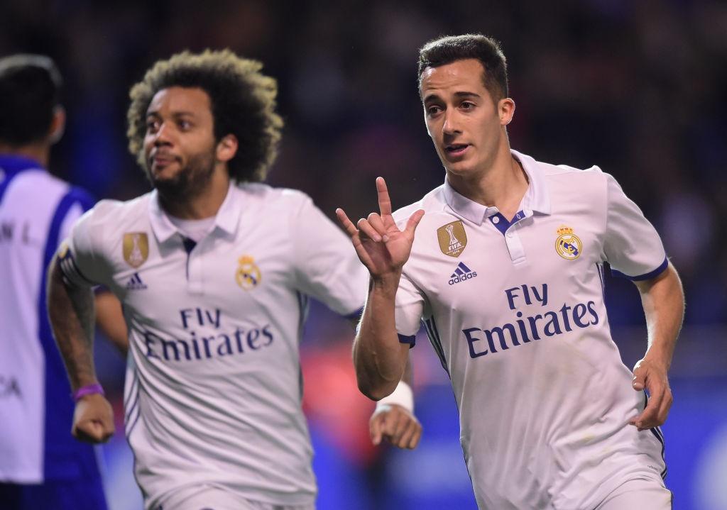 Real thang tung bung Deportivo trong ngay vang Ronaldo hinh anh 4