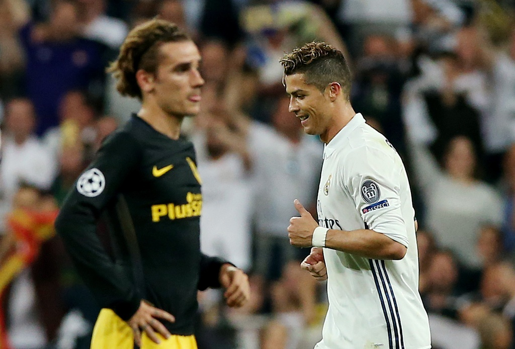 Griezmann that than khi lan thu 3 lam nen cho Ronaldo hinh anh 1