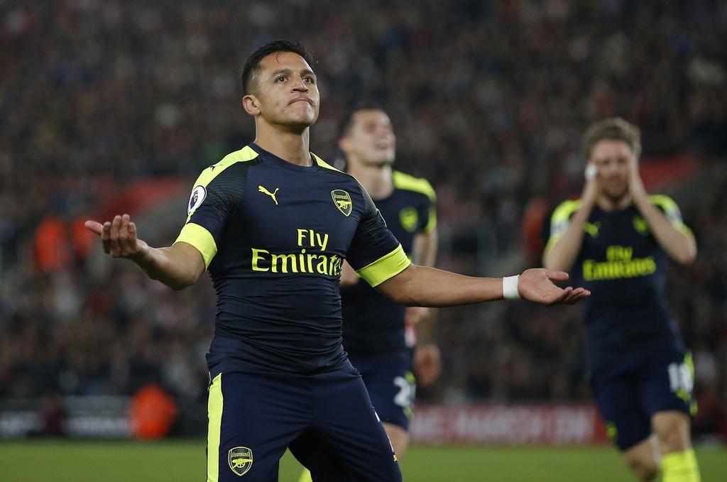 Arsenal thang Southampton 2-0 anh 5