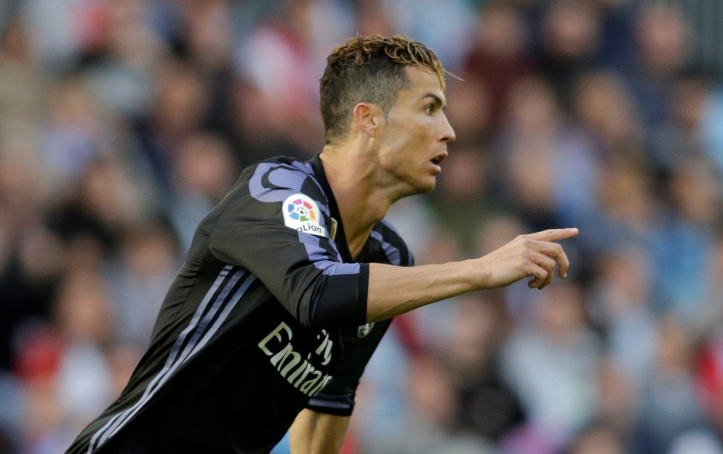 Ronaldo ghi danh lich su sau cu dup vao luoi Celta Vigo hinh anh 4