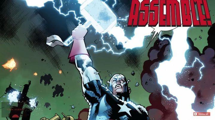 Avengers Endgame,  Captain America,  Thor anh 3