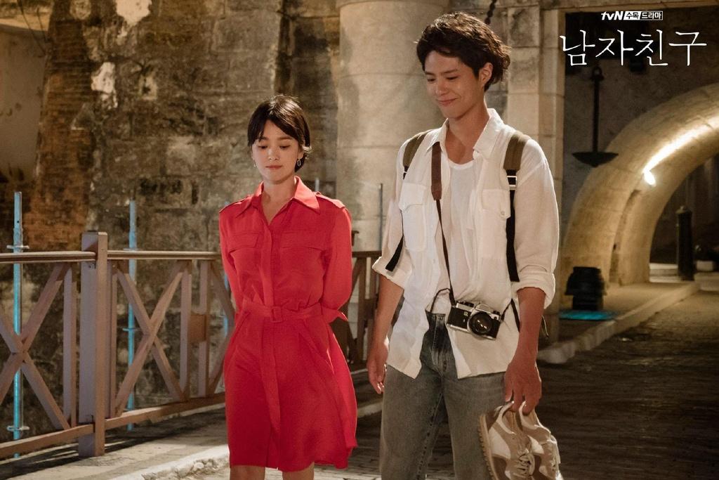 Cap doi Han chenh lech chieu cao,  Song Hye Kyo anh 5