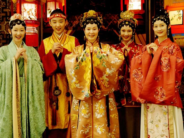 Tay du ky,  Hong lau mong,  Tam quoc dien nghia,  Phong than dien nghia anh 3