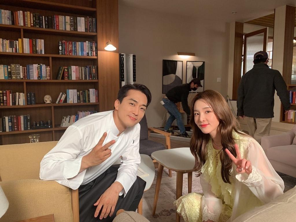Song Seung Hun,  Trai tim mua thu anh 4