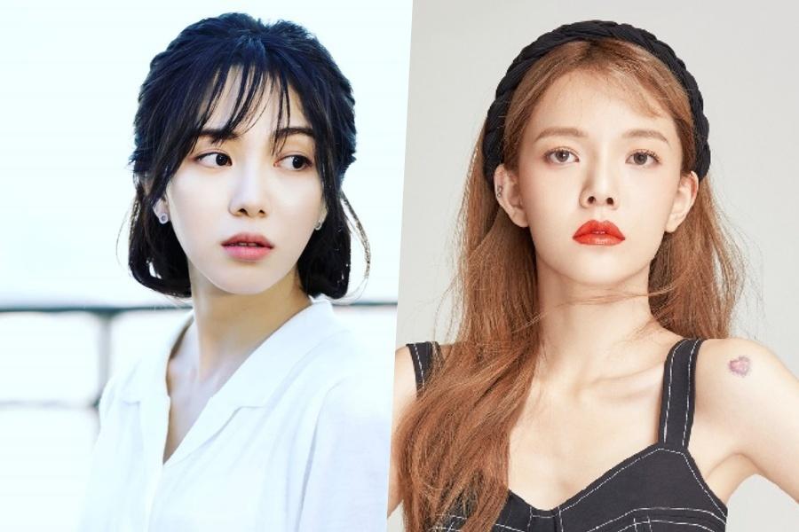 MIna,  Jimin,  AOA,  Momoland,  Yeon Woo anh 1