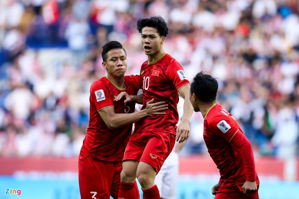 Công Phượng xuất sắc nhất tuyển Việt Nam trận gặp Jordan