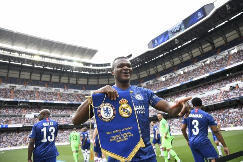 Raul toa sang trong tran dau giua huyen thoai Real va Chelsea hinh anh 2