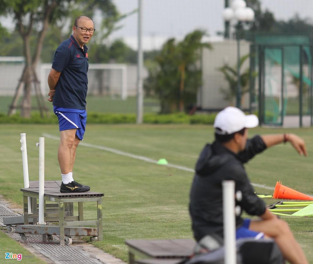 HLV Park xu ly bong truoc vong vay cua U23 Viet Nam hinh anh 7