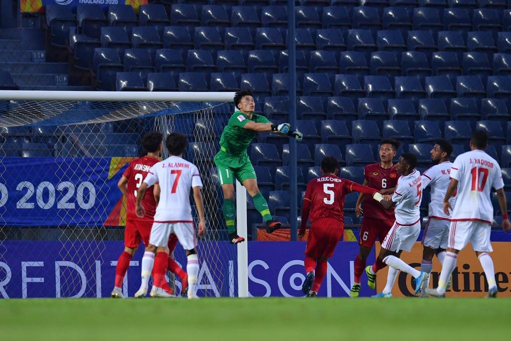 Niem tin cua HLV Park danh cho Bui Tien Dung hinh anh 1 AFC_U_23_CHAMPIONSHIP_2020_Post_Match_Activity.jpg