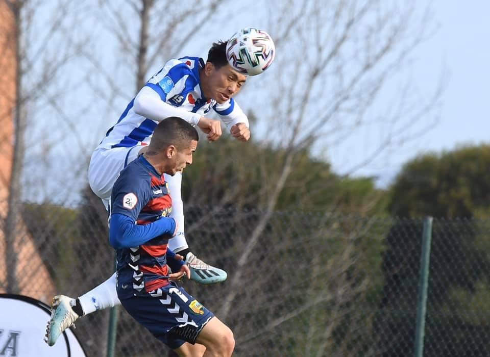 Văn Hậu chỉ được trao cơ hội ở đội trẻ của Heerenveen. Ảnh: SC Heerenveen.