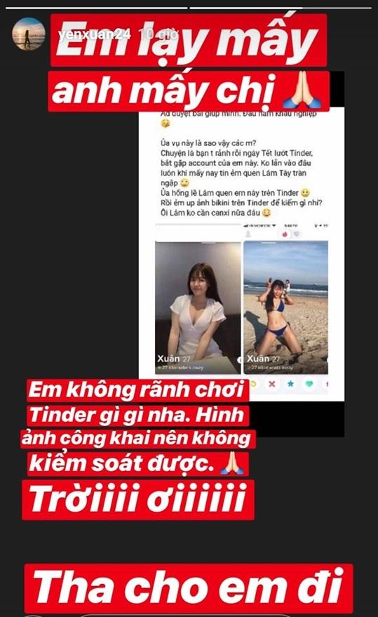 Yen Xuan: Tu hot girl phong tap den ban gai tin don cua Lam Tay hinh anh 10