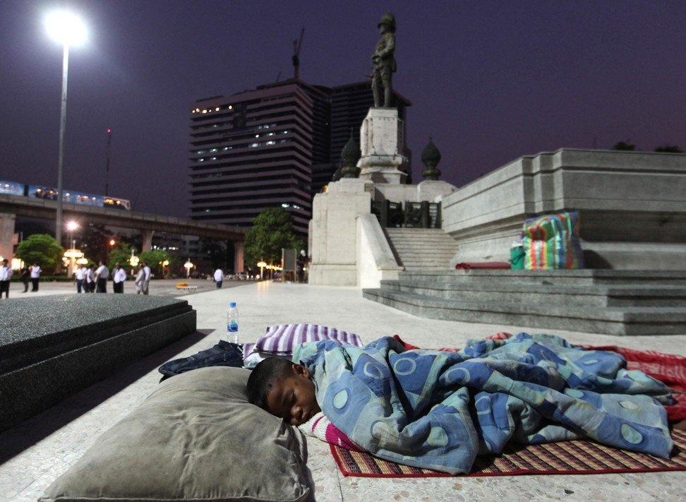 Bi danh dap, tre em Bangkok ra duong lam nguoi vo gia cu hinh anh 3 Bangkok_post.jpg