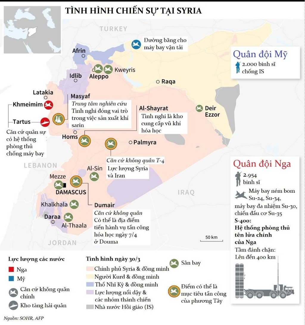 Tan cong Syria: Trump nguy co leo thang cuoc chien hinh anh 4