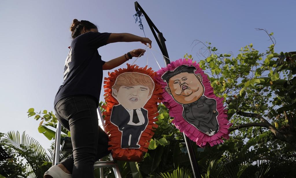 Nha hang Singapore tranh thu an theo thuong dinh Trump - Kim hinh anh 2
