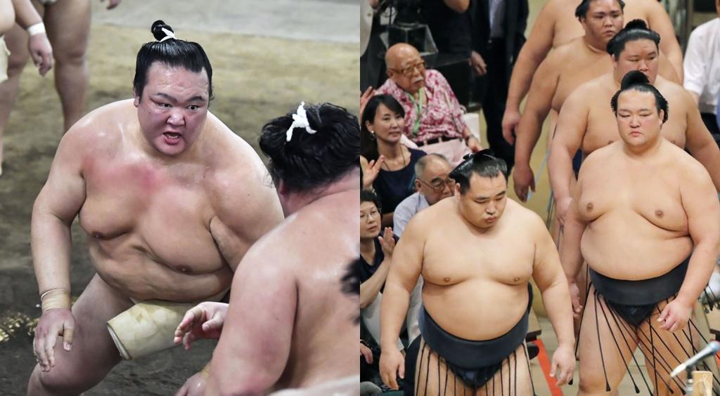 Ten tuoi lon trong lang sumo quy tu tai giai dau mua thu o Nhat hinh anh 2