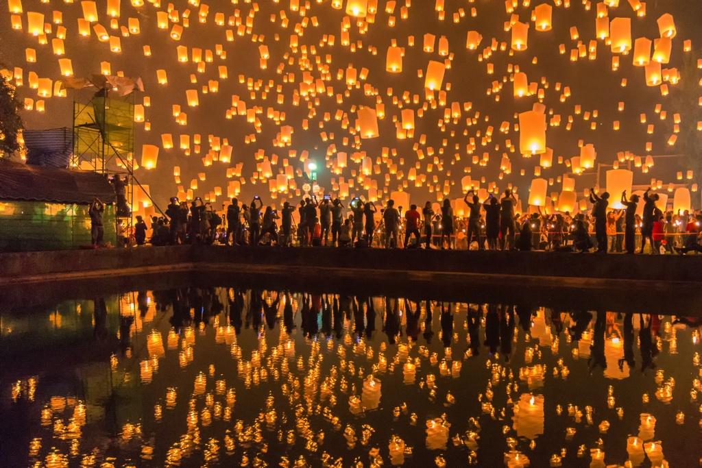 Lam sao de den Chiang Mai anh 1