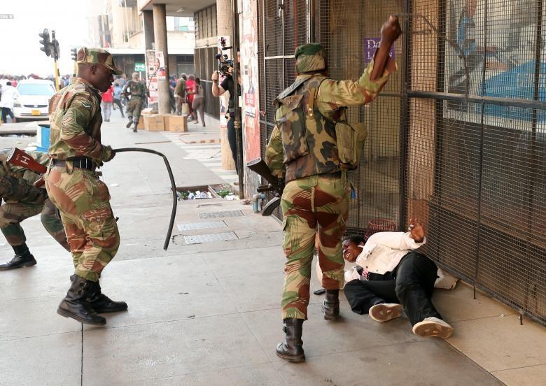 bau cu tai Zimbabwe anh 4