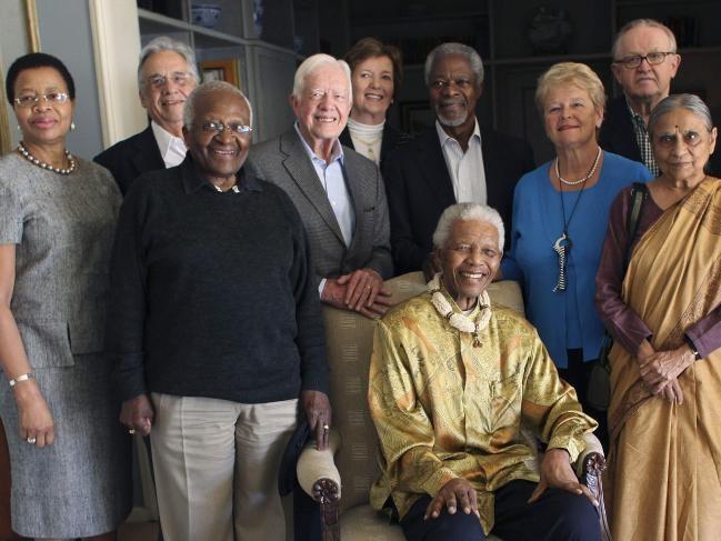 Kofi Annan - vi tong thu ky LHQ mot doi tan tam vi hoa binh the gioi hinh anh 8