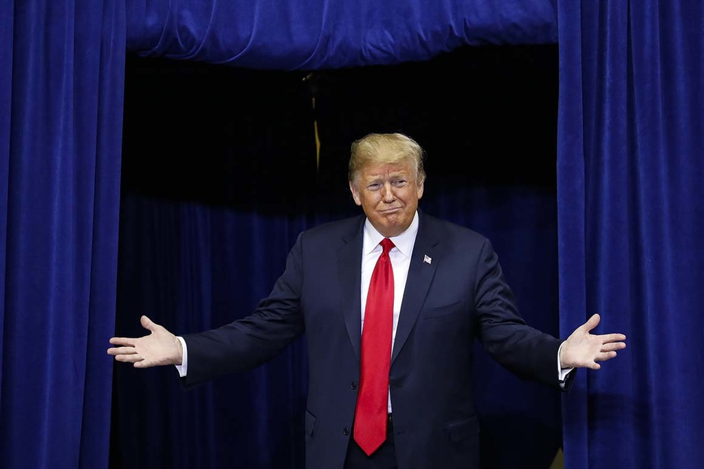 Trump tai tranh cu 2020 anh 1