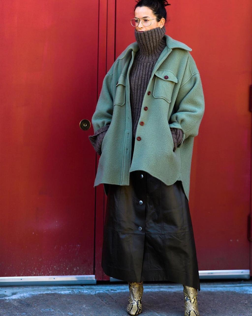 Tuan le thoi trang Thu - Dong 2019: New York am ap cung tong mau nau hinh anh 15