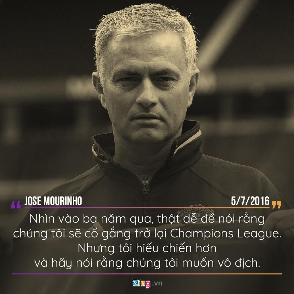 Mourinho va nhung phat bieu dang nho khi dan dat MU hinh anh 1