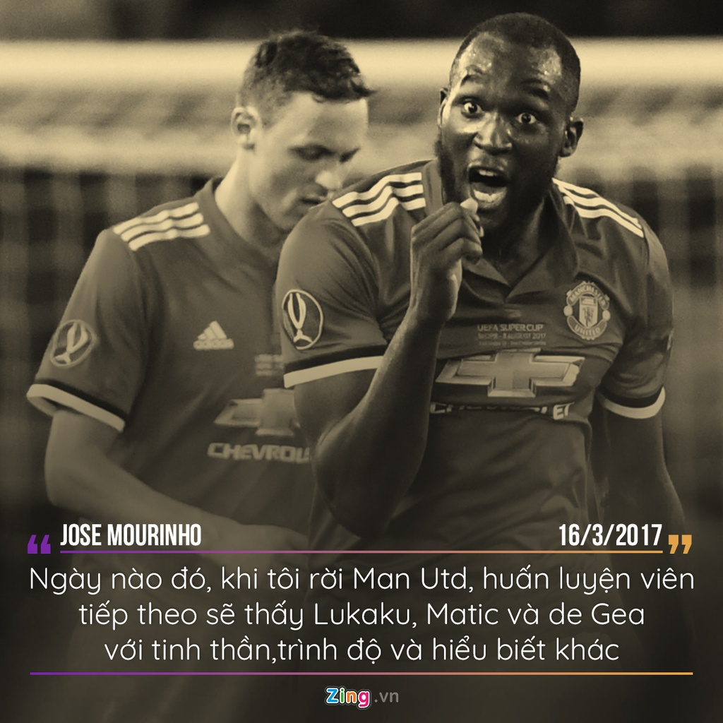 Mourinho va nhung phat bieu dang nho khi dan dat MU hinh anh 6