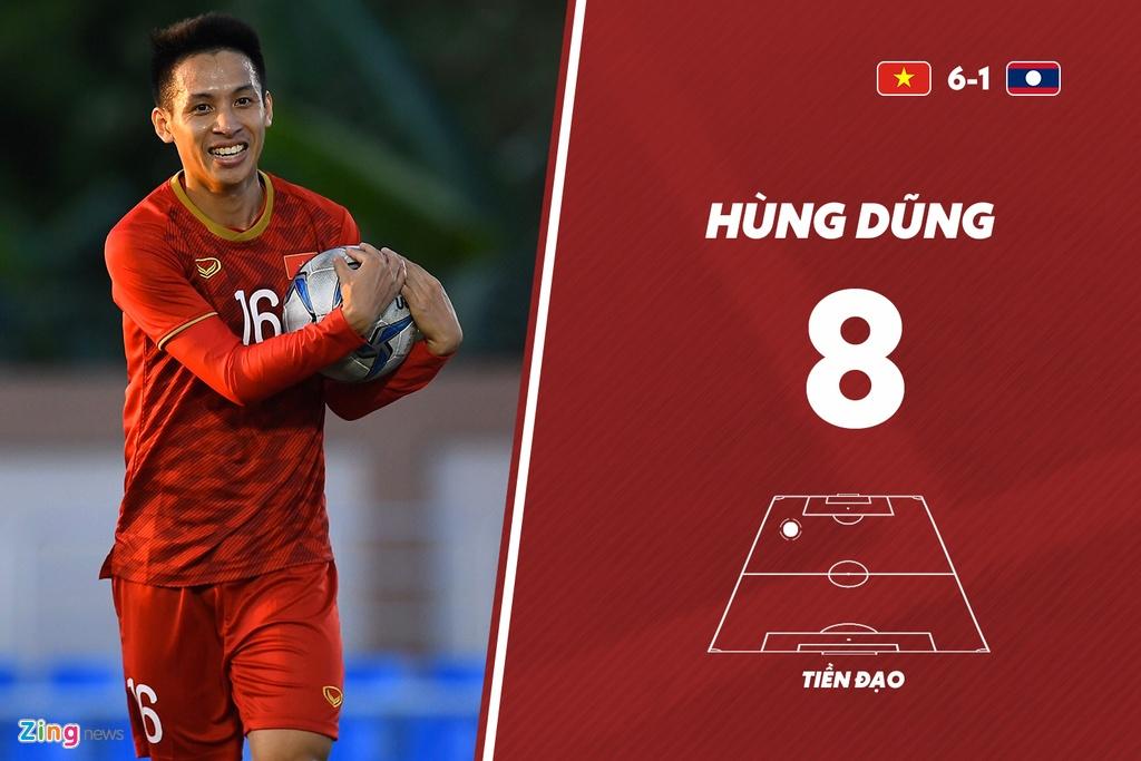 Tien Linh noi bat trong tran Viet Nam thang U22 Lao 6-1 hinh anh 10