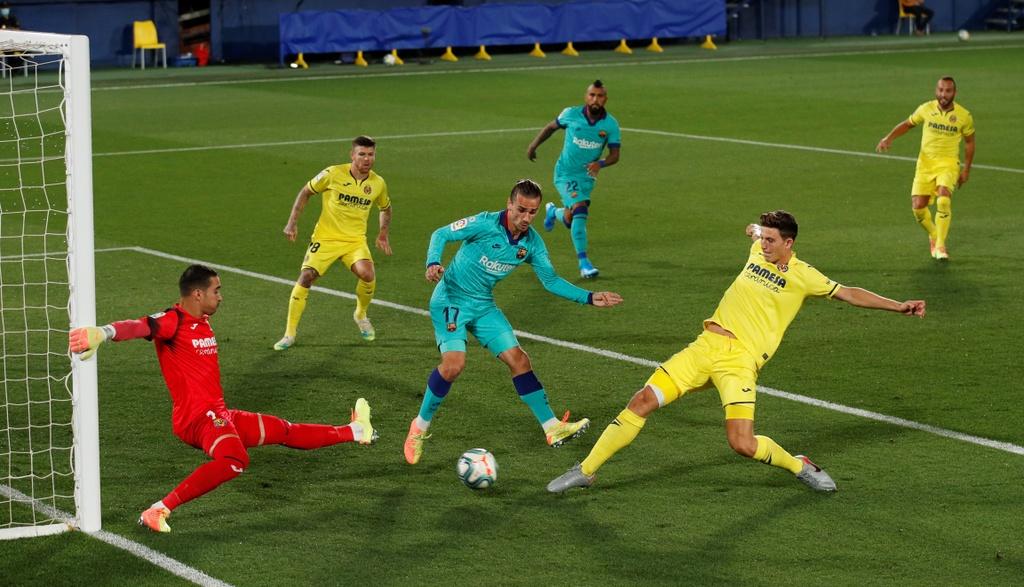 Barca vs Villarreal anh 2