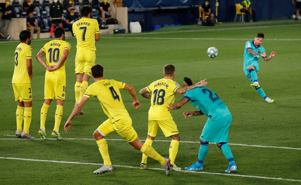 Barca vs Villarreal anh 4