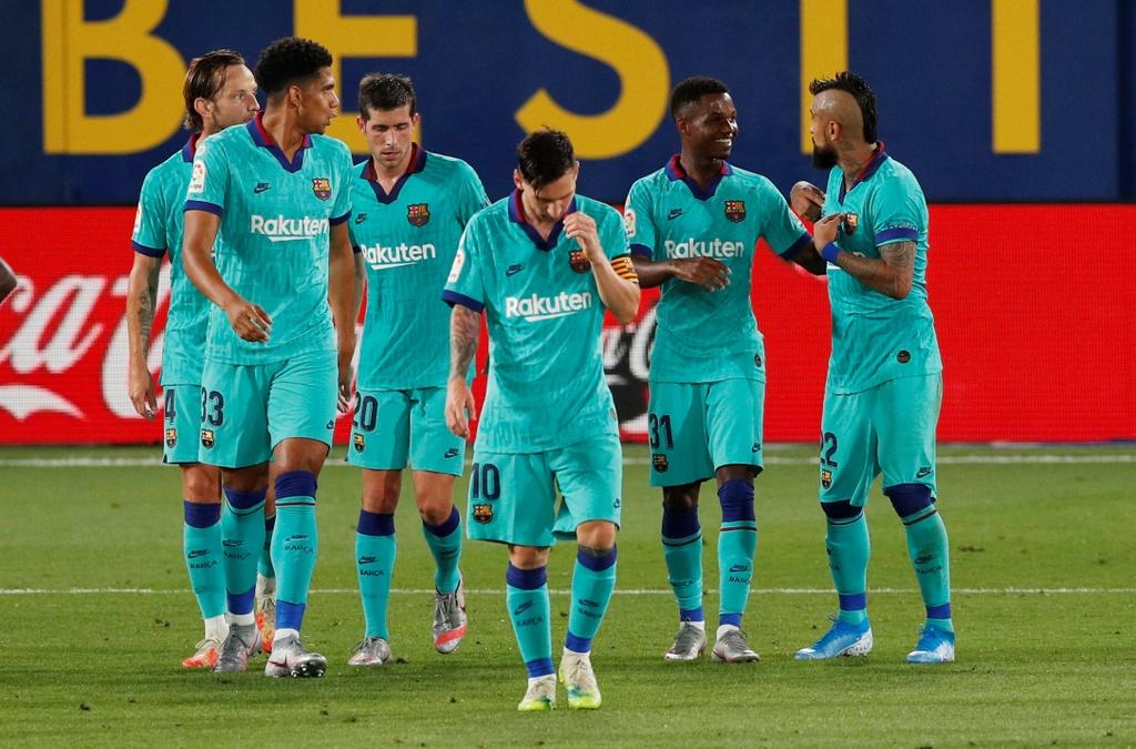 Barca vs Villarreal anh 12