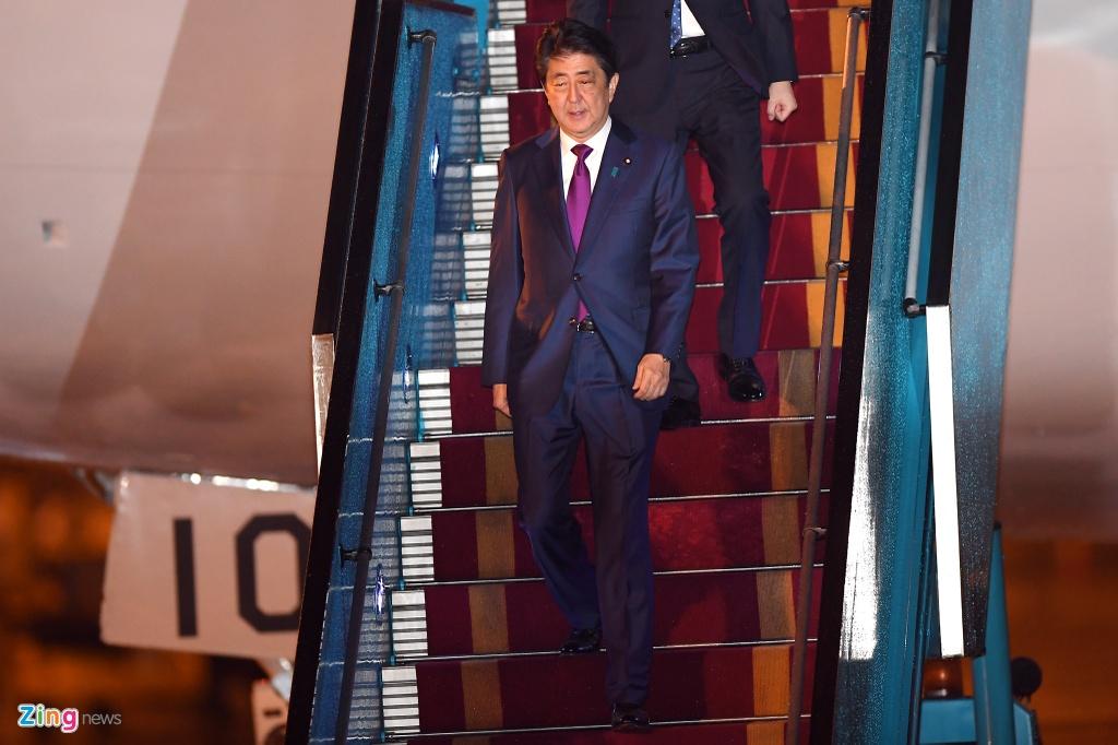 Thu tuong Shinzo Abe di Air Force One cua Nhat den Da Nang hinh anh 5