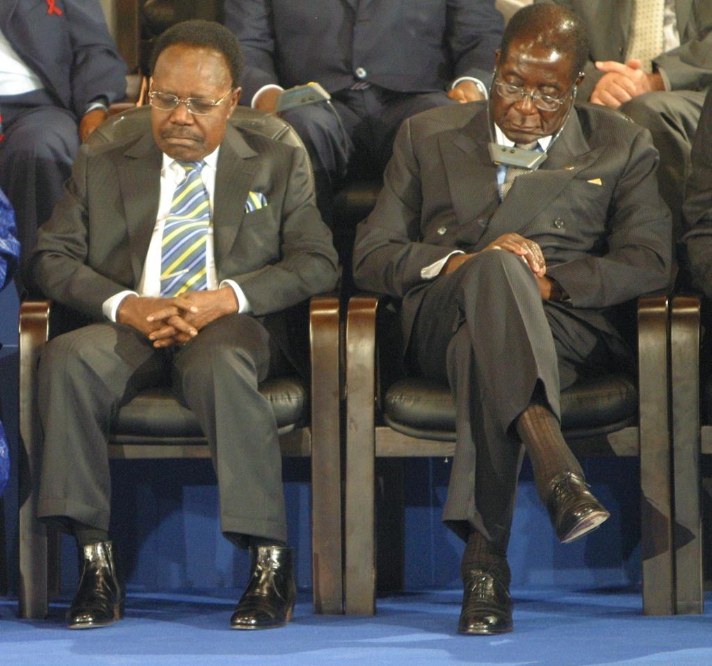 Nhung lan ngu gat cua tong thong Zimbabwe hinh anh 2