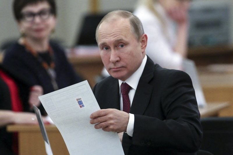Tong thong Nga Putin anh 1