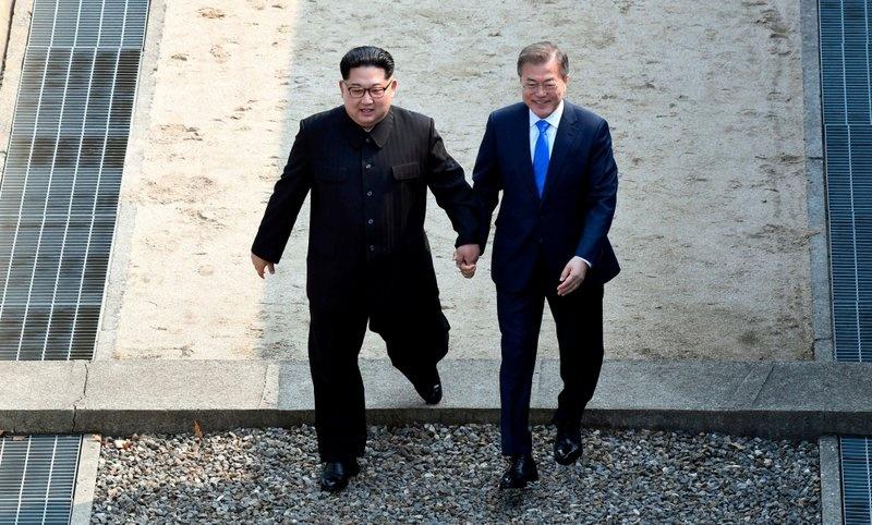 Mot Kim Jong Un rat khac nhin tu hoi nghi lien Trieu hinh anh 1