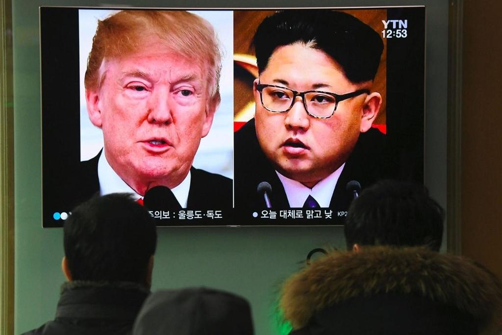 Sau cai nam tay Han - Trieu, 'bong' gio da den chan Trump hinh anh 2