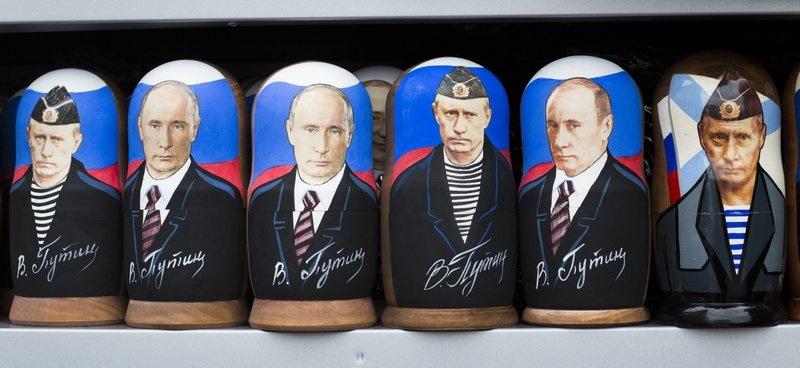 Hinh anh Tong thong Putin la bieu tuong trong cuoc song o Nga hinh anh 1