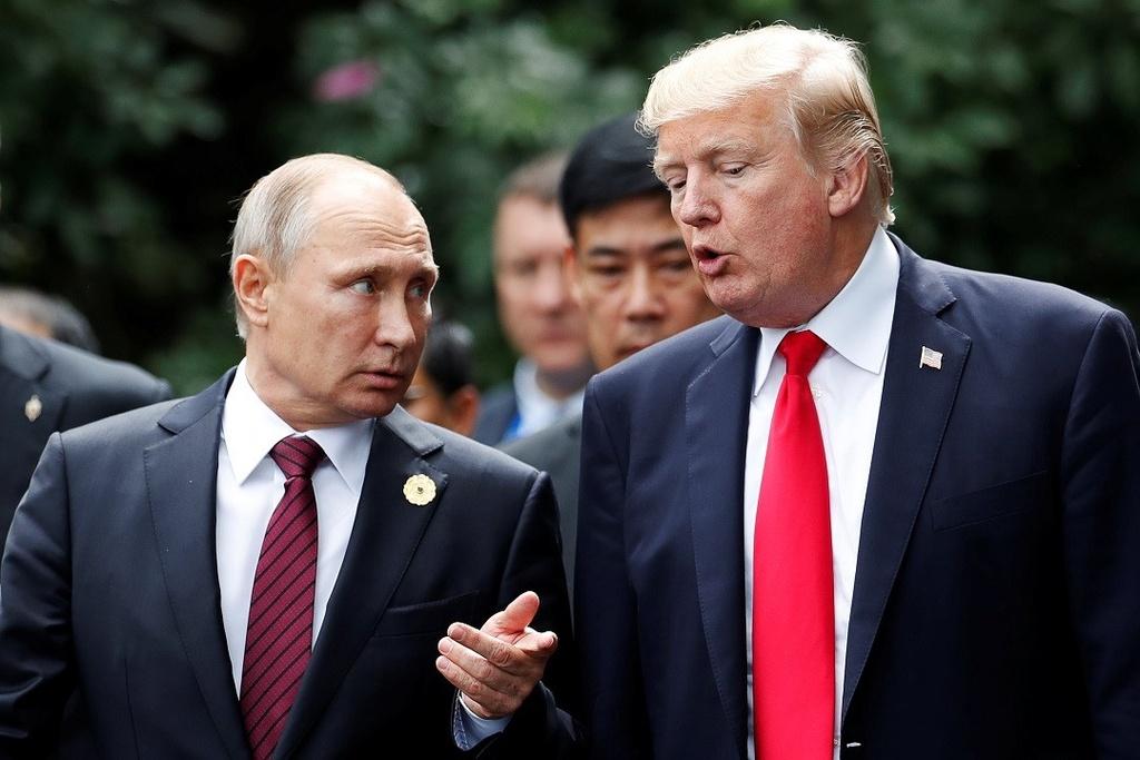 Trump va Putin anh 1