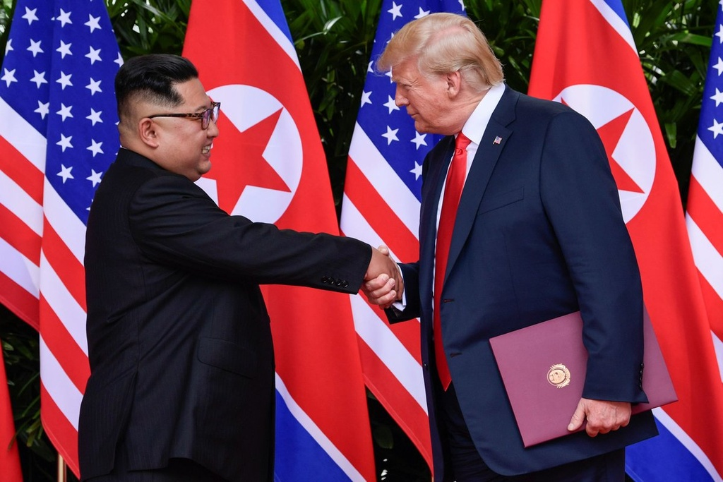 Trump gap Kim Jong Un anh 3