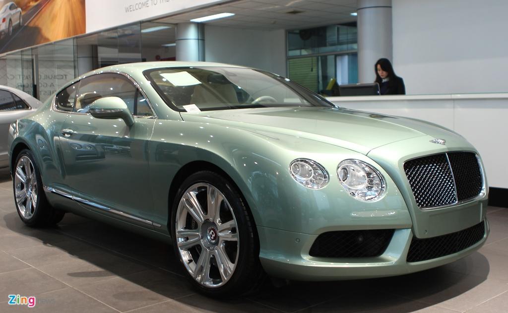 Bentley Continental GT V8 chinh hang gia gan 11,2 ty dong hinh anh 10