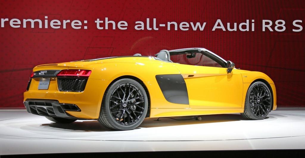 Audi R8 Spyder V10 2017 ra mat anh 2
