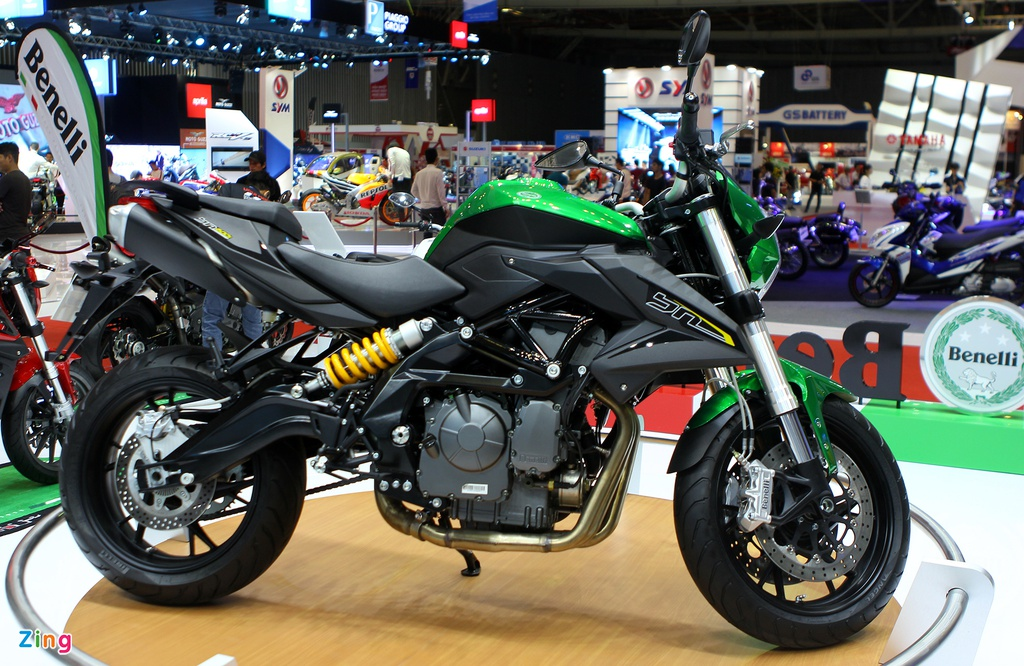 Dan moto Benelli o trien lam Vietnam Motorcycle Show 2016 hinh anh 9