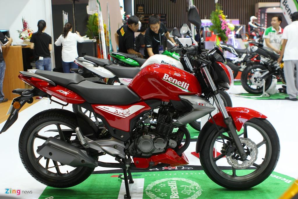Dan moto Benelli o trien lam Vietnam Motorcycle Show 2016 hinh anh 1