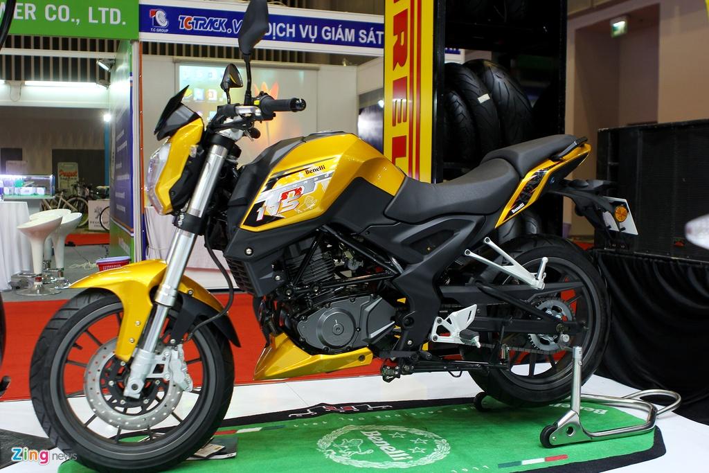 Dan moto Benelli o trien lam Vietnam Motorcycle Show 2016 hinh anh 7