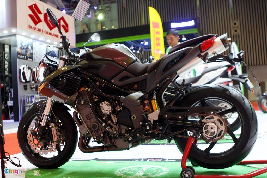 Dan moto Benelli o trien lam Vietnam Motorcycle Show 2016 hinh anh 3