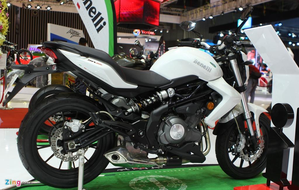 Dan moto Benelli o trien lam Vietnam Motorcycle Show 2016 hinh anh 4
