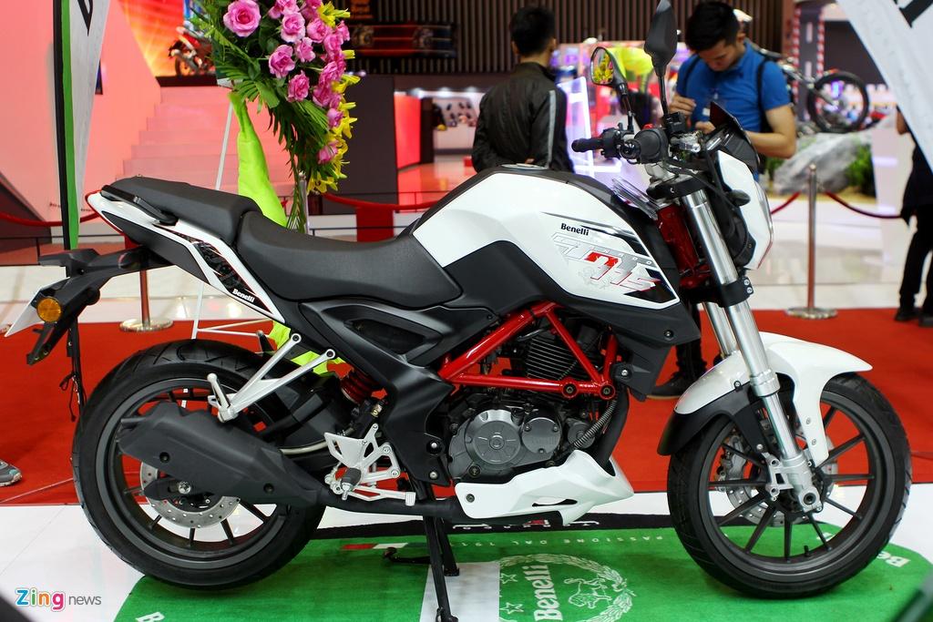 Dan moto Benelli o trien lam Vietnam Motorcycle Show 2016 hinh anh 6