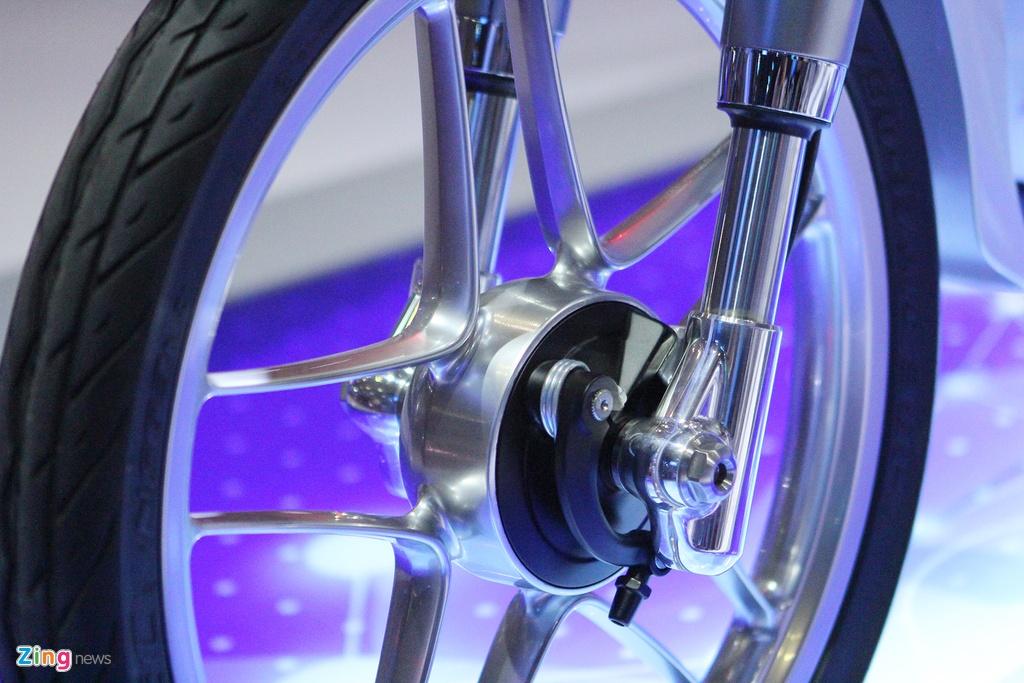 Chi tiet concept Honda EV-Cub chay dien vua ve Viet Nam hinh anh 4
